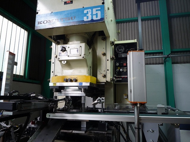 大阪府 金属加工 プレス加工 プレス試作 機械加工 OBS-45